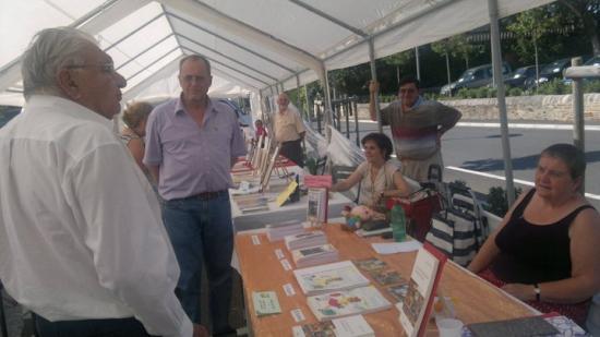 Salon de l'écri'vins à Naucelle (12) 13 août 2011