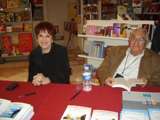 Dédicaces Librairie GOYARD  NIMES le 23 novembre 2011