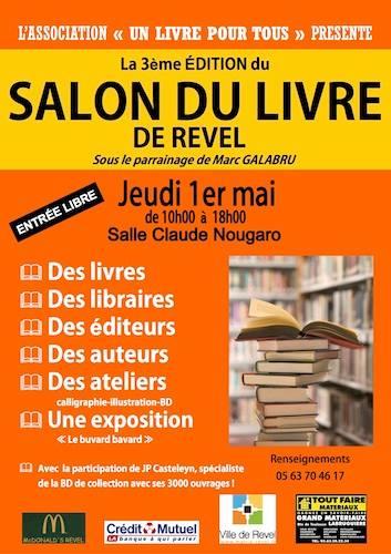 Salon du livre  REVEL
