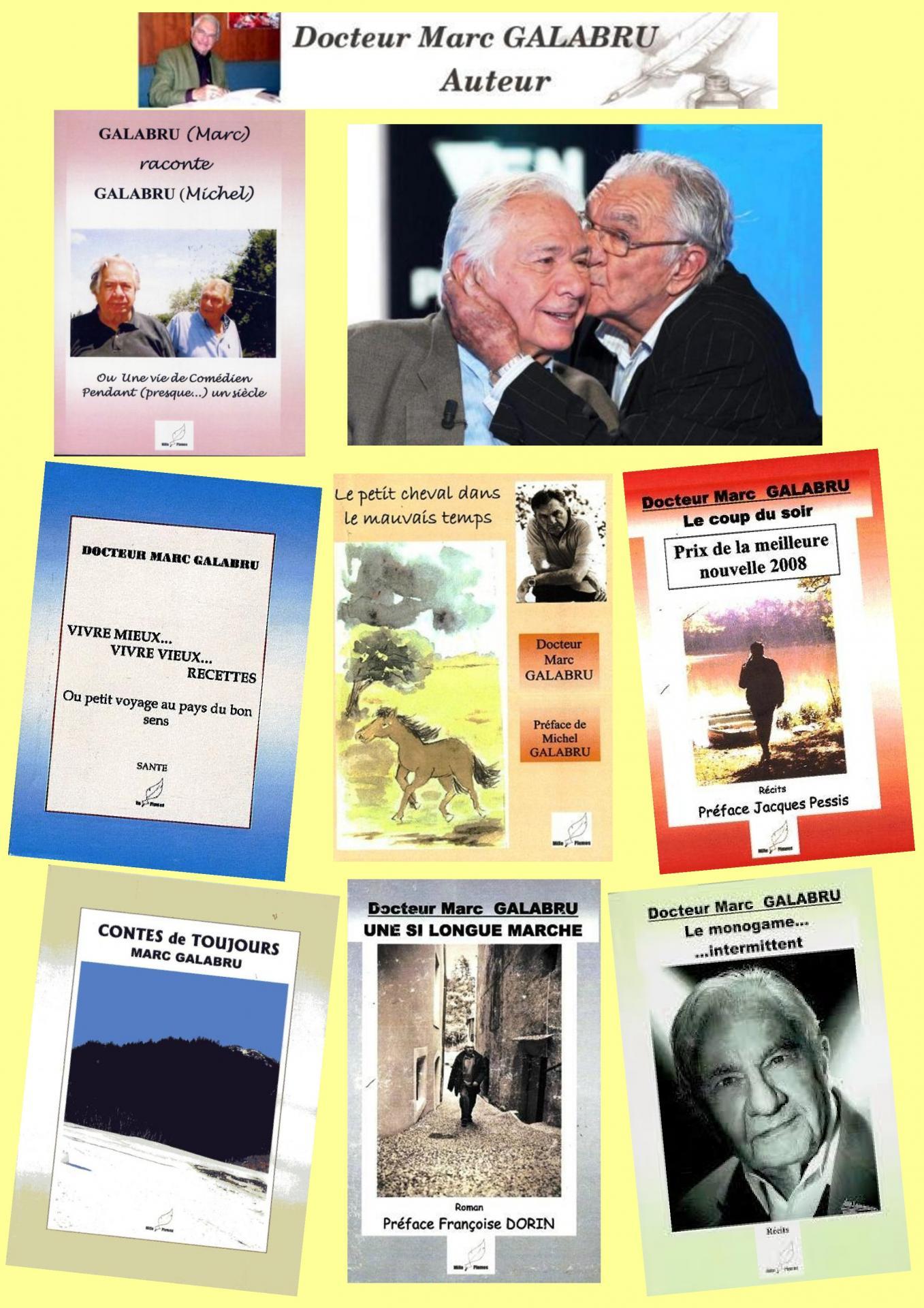 Affiche livres Marc Galabru